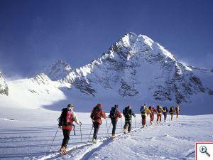 Skiroute-Hoch-Tirol zum Grossglockner
